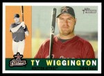 2009 Topps Heritage #301  Ty Wigginton  Front Thumbnail