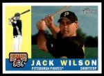2009 Topps Heritage #258  Jack Wilson  Front Thumbnail