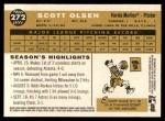 2009 Topps Heritage #272  Scott Olsen  Back Thumbnail