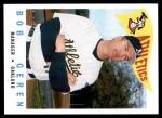 2009 Topps Heritage #219  Bob Geren  Front Thumbnail