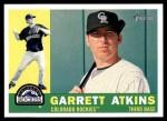 2009 Topps Heritage #375  Garrett Atkins  Front Thumbnail