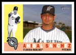 2009 Topps Heritage #333  Anibal Sanchez  Front Thumbnail