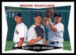 2009 Topps Heritage #230  Josh Beckett / Jon Lester / Daisuke Matsuzaka  Front Thumbnail
