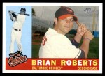 2009 Topps Heritage #419  Brian Roberts  Front Thumbnail