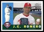 2009 Topps Heritage #416  J.C. Romero  Front Thumbnail