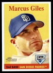 2007 Topps Heritage #190  Marcus Giles  Front Thumbnail