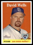 2007 Topps Heritage #3  David Wells  Front Thumbnail
