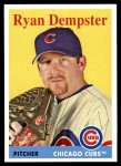2007 Topps Heritage #198  Ryan Dempster  Front Thumbnail