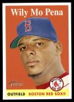 2007 Topps Heritage #178  Wily Mo Pena  Front Thumbnail