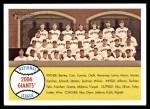 2007 Topps Heritage #19   San Francisco Giants Team Front Thumbnail