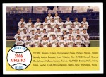 2007 Topps Heritage #174   Oakland Athletics Team Front Thumbnail