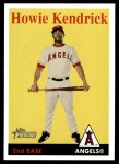 2007 Topps Heritage #131  Howie Kendrick  Front Thumbnail