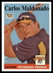2007 Topps Heritage #151  Carlos Maldonado  Front Thumbnail
