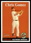 2007 Topps Heritage #154  Chris Gomez  Front Thumbnail