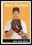 2007 Topps Heritage #331  Steve Trachsel  Front Thumbnail