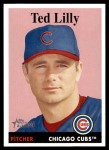 2007 Topps Heritage #245  Ted Lilly  Front Thumbnail