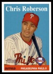 2007 Topps Heritage #291  Chris Roberson  Front Thumbnail