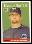 2007 Topps Heritage #252  Dennis Sarfate  Front Thumbnail