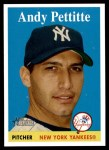2007 Topps Heritage #266  Andy Pettitte  Front Thumbnail