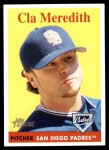 2007 Topps Heritage #461  Cla Meredith  Front Thumbnail