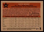 2007 Topps Heritage #480   -  David Wright All-Star Back Thumbnail