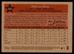 2007 Topps Heritage #490   -  Paul LoDuca All-Star Back Thumbnail