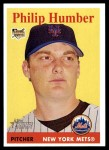 2007 Topps Heritage #449  Philip Humber  Front Thumbnail