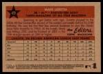 2007 Topps Heritage #479   -  Mark Loretta All-Star Back Thumbnail