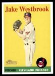 2007 Topps Heritage #439  Jake Westbrook  Front Thumbnail