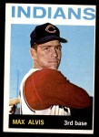 1964 Topps #545  Max Alvis  Front Thumbnail
