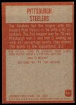 1965 Philadelphia #141   Steelers Team Back Thumbnail