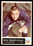 1965 Philadelphia #36  Dick Modzelewski  Front Thumbnail