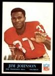 1965 Philadelphia #176  Jimmy Johnson  Front Thumbnail
