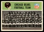 1965 Philadelphia #15   Bears Team Front Thumbnail