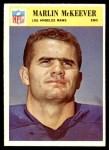1966 Philadelphia #98  Marlin McKeever  Front Thumbnail