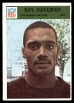 1966 Philadelphia #150  Roy Jefferson  Front Thumbnail