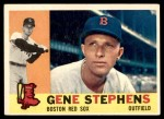 1960 Topps #363  Gene Stephens  Front Thumbnail