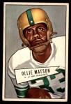 1952 Bowman Large #127  Ollie Matson  Front Thumbnail