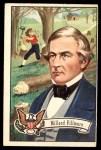 1956 Topps U.S. Presidents #16  Millard Fillmore  Front Thumbnail