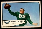 1954 Bowman #114  Richard Lemmon  Front Thumbnail