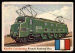 1955 Topps Rails & Sails #7   Electric Locomotive Front Thumbnail