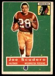 1956 Topps #85  Joe Scudero  Front Thumbnail