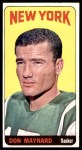 1965 Topps #121  Don Maynard  Front Thumbnail