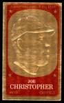 1965 Topps Embossed #52   Joe Christopher   Front Thumbnail