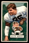1951 Bowman #111  Alex Agase  Front Thumbnail