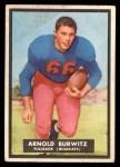 1951 Topps Magic #69  Arnold Burwitz  Front Thumbnail