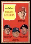 2011 Topps Heritage #59   -  Jered Weaver / Felix Hernandez / Jon Lester / Justin Verlander AL K League Leaders Front Thumbnail