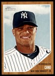 2011 Topps Heritage #65  Robinson Cano  Front Thumbnail