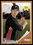 2011 Topps Heritage #86  Alex Presley  Front Thumbnail