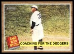2011 Topps Heritage #142 BR  -  Babe Ruth Coaching For The Front Thumbnail